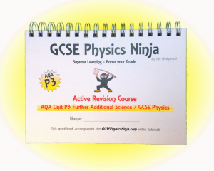 AQA Further Additional Science / GCSE Physics Unit P3 Flashcard Workbook