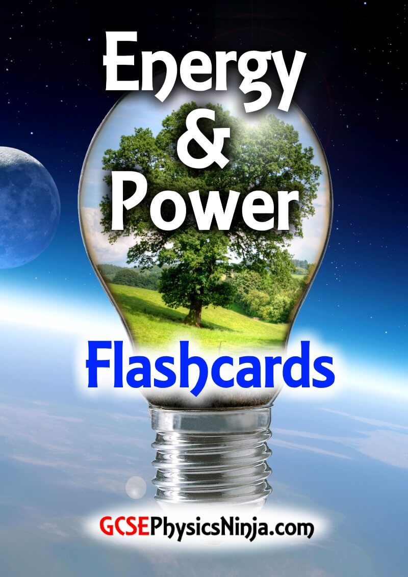 energy & power flashcards - cover